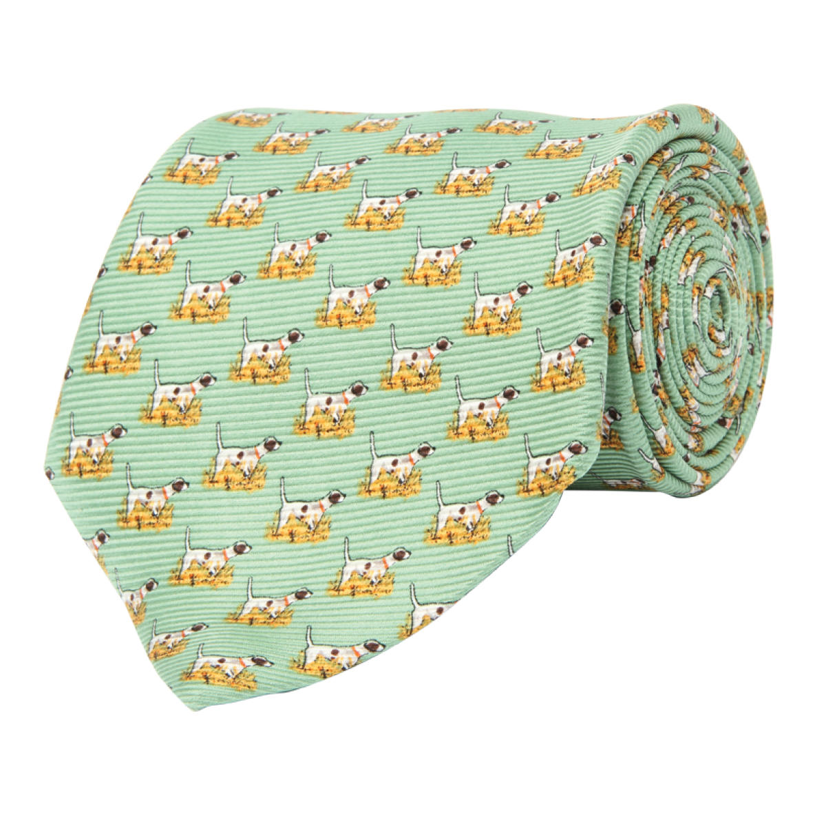 Wm. Lamb & Son - Pointer Tie - Green